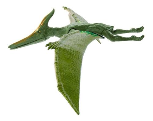 Imagen 1 de 3 de Jurassic World Dinosaurio Pteranodon 30 Cm Mattel Bestoys