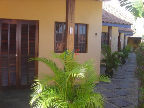 Imagem 1 de 8 de Ref 3798 - Condominio 4 Chalés - Praia Do Capricórnio - Caraguatatuba, 2 Dorms E 1 Vaga! Bom Para Investidor. Estão Alugados, Só Venda. - 3798