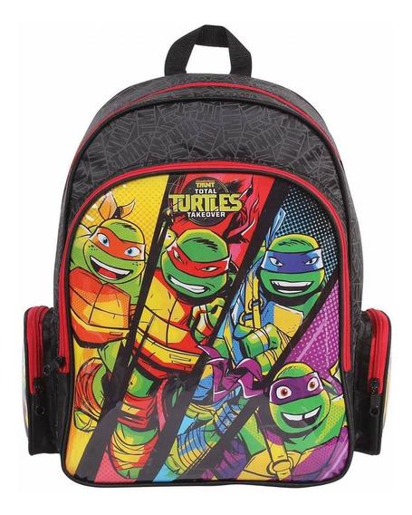 Mochila Grande Dmw Tartarugas Ninja 49112