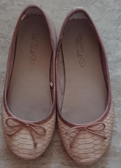 Zapatos Zara Girls. Niña. Usados. Talla: 32