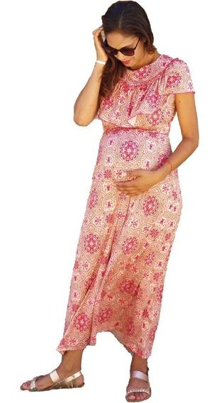 Vestido De Lactancia Y Embarazo Ropa Maternidad-ophelia