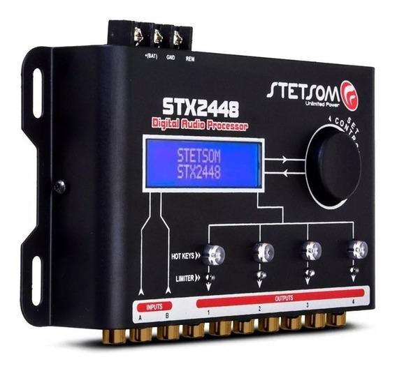 Processador De Áudio Digital Equalizado Stx2448 Stetsom Som