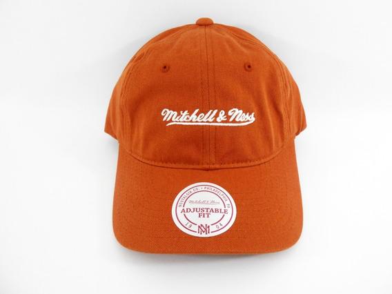 Boné Mitchell & Ness Chukker Branded Dad Hat Laranja