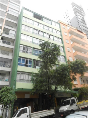 Kitnet Para Alugar, 28 M² Por R$ 1.100/mês - Bela Vista - São Paulo/sp - Kn0090