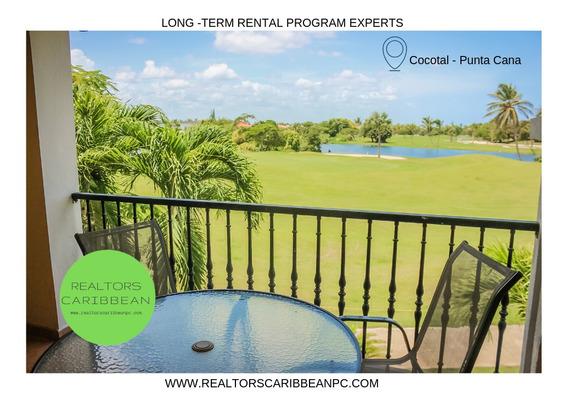 Cocotal Bávaro Super Oferta Panoramica Vista Golf 2 Dormitorios