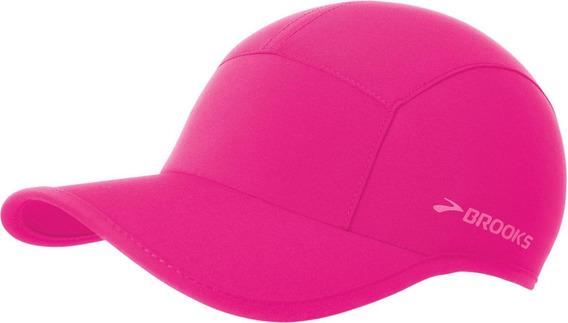 Gorra Brooks Sherpa Pink Proteccion Uv Running Trail Running
