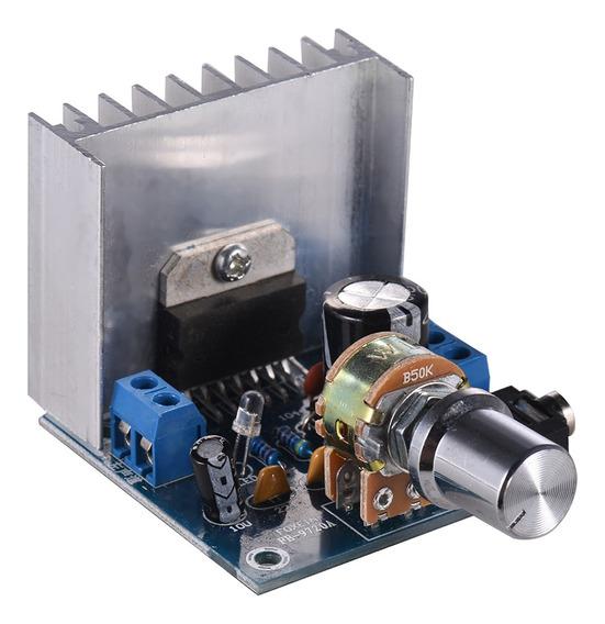 Módulo Amplificador De Áudio Estéreo 2.0 15w + 15w Dual-chan