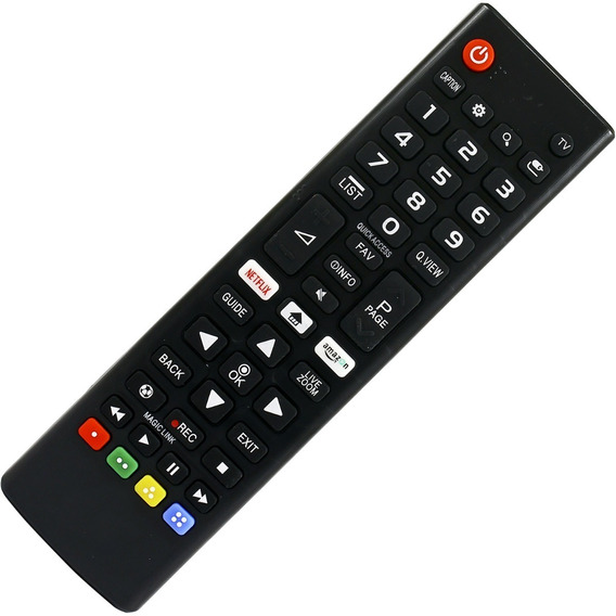 Controle Smart Tv Lg 4k Nova Led Ultra Hd Netflix Lcd Akb75095315 43lj 49lj 55lj 28mt 43uj 49uj 60un 65uj 49uj Vc-a8204