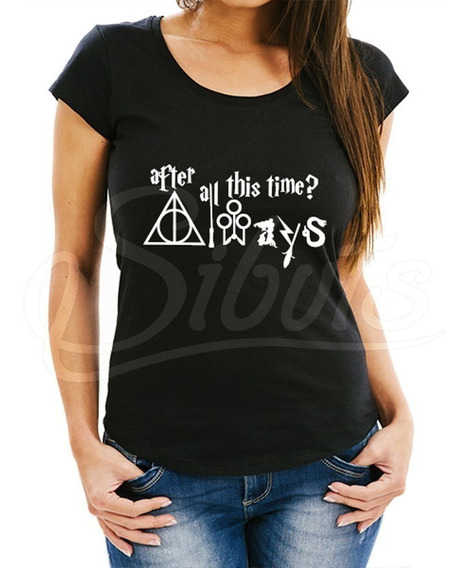 Playera Mujer Harry Potter After All This Time Envío Gratis