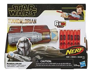 Star Wars Nerf The Mandalorian Lanzador De Cohetes