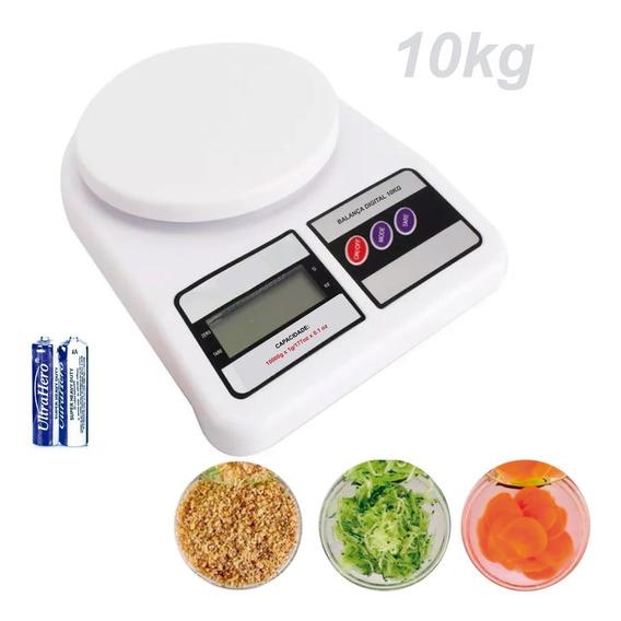 Balança De Alta Precisão Digital 10kg Com Pilhas
