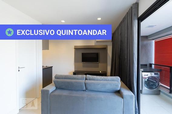 Studio No 8º Andar Com 1 Dormitório E 1 Garagem - Id: 892947428 - 247428
