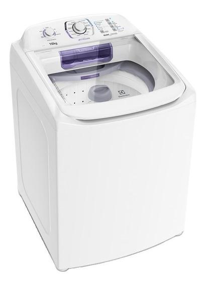 Lavadora de roupas automática Electrolux Jet&Clean LAC16 branca 16kg 110V
