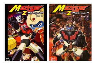 Mazinger Edition Z The Impact Impacto Volumen 1 Y 2 Dvd