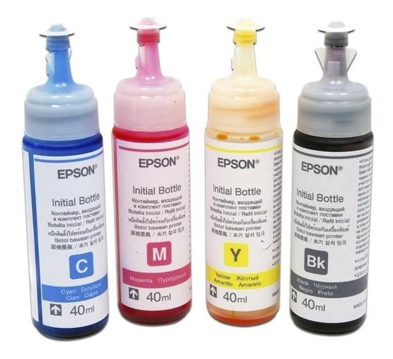 Tinta Original Epson L110 L210 L310 L350 L355 L555 L200 8 Pz