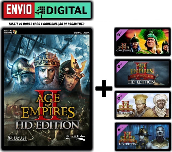 Age Of Empire 2 Hd Edition + Expansões [pc] Envio Digital