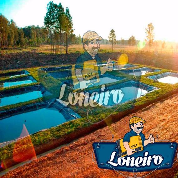 Lona 3,5x4 Lago Ornamental Tanque Peixe Manta De Casa Jardim