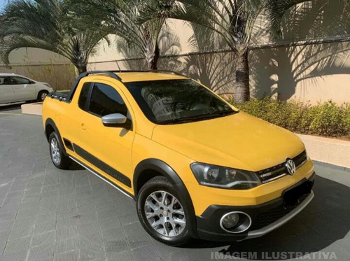 Imagem 1 de 4 de Volkswagen Saveiro 1.6 16v Cross Cab. Dupla Total Flex 2p