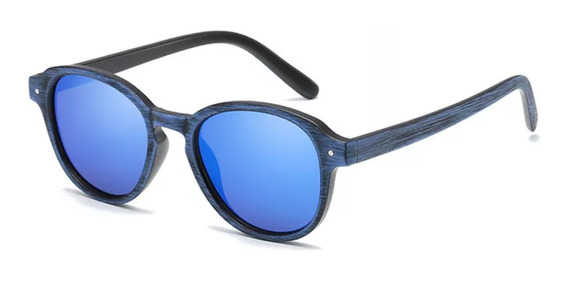 Óculos De Sol Masculino Feminino Madeira Uv400