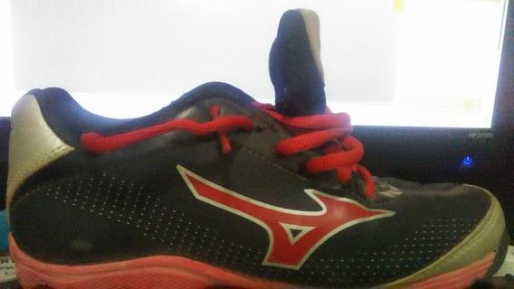 Zapatos De Taco Marca Mizuno Originales Talla 33 /1.5us