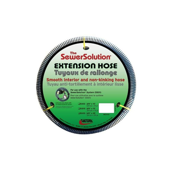 Valterra Ss15 Sewer Solution 15 Ft Extension Hose