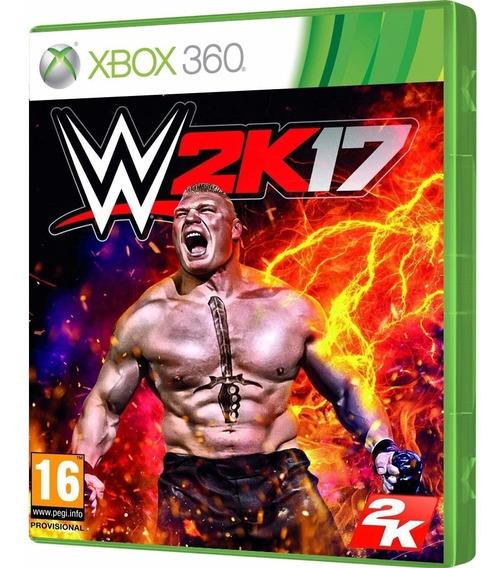 Jogo Wwe 2k17 Xbox 360