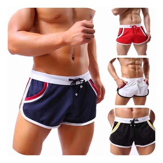 Shorts Cortos Gym Traje De Baño Bermudas Moda Japonesa Playa