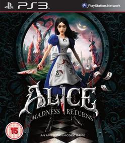 Alice: Madness Returns Ps3 - Mídia Digital