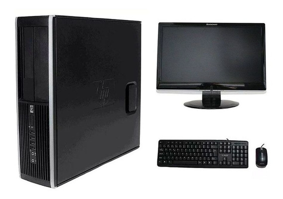 Computador Hp Elite 8200 I7 8gb 120ssd Monitor 18,5