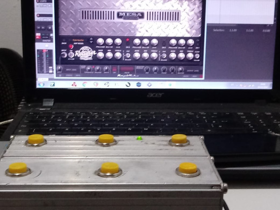 Controlador Midiusb Para Amplitube E Guitar Rig