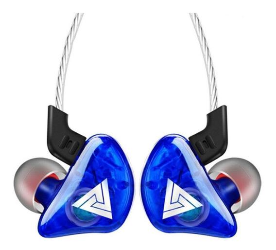 Fone de ouvido QKZ CK5 azul
