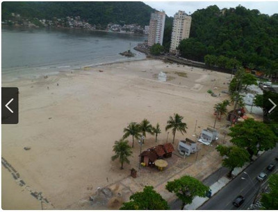 Kitnet Em Centro, São Vicente/sp De 38m² 1 Quartos À Venda Por R$ 210.000,00 - Kn221375