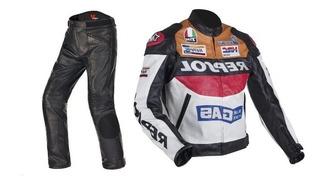 Jaqueta E Calça Proteção Duhan Repsol Motociclismo Pu Honda