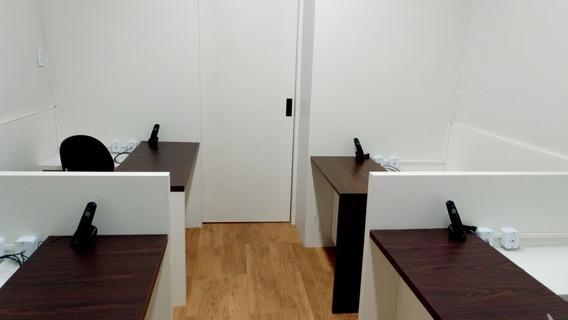 Salas Privativas Compartilhadas Com Ou Sem Móveis(coworking)