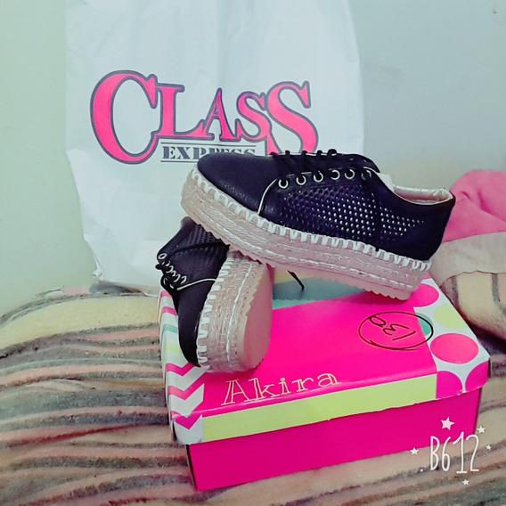 Zapatillas Com Plataforma Class