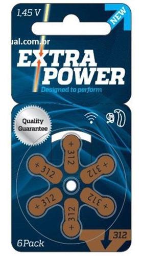 Pilha Ou Bateria Extra Power Para Aparelhos Auditivos