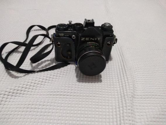 Câmera Zenit 12 Xp Com Case De Couro Original