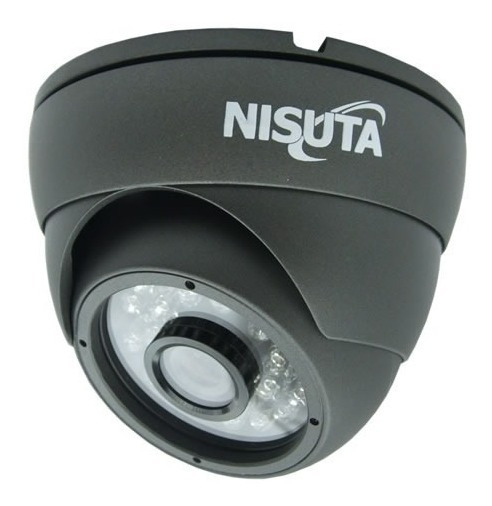 Camara Vigilancia Nisuta Infrarrojo 420tvl Ccd Sony Exterior