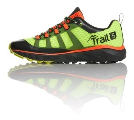 Zapatilla Salming Trail 5 Safety Yellow