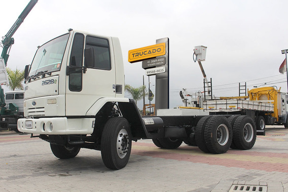 Ford Cargo 2628 Chassi 6x4 2007 = Trucado Mb Mercedes Vw