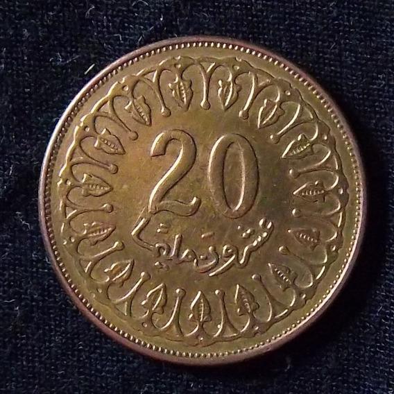 Túnez 20 Millims 2009 Exc Km 307a