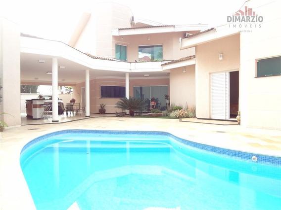 Casa Com 4 Dormitórios À Venda, 353 M² Por R$ 1.550.000 - Parque Residencial Nardini - Americana/sp - Ca0897