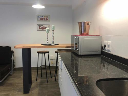 Apartamento Nuevo  Amueblado 1 Dormitorio Y Medio