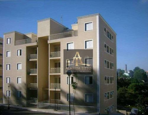 Excelente Apartamento À Venda No Resort Da Granja, Cotia. 2 Dorms, Armários Planejados E Lazer! - Ap3420