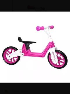 Bici Balancín Plegable Color Fucsia