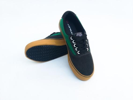 Zapatillas Airwalk (verde Billar)