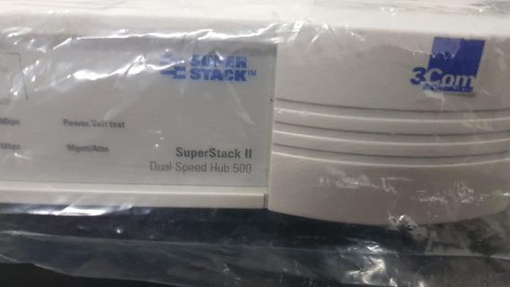 Switch 3com Superstack Ii Dual Speed Hub 500 24 Port 3c16611