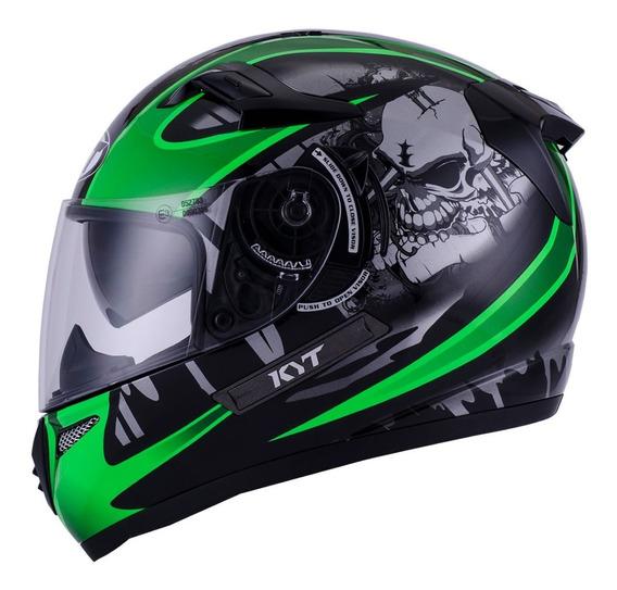 Casco Moto Kyt Venom Doble Visor Sol Motoscba