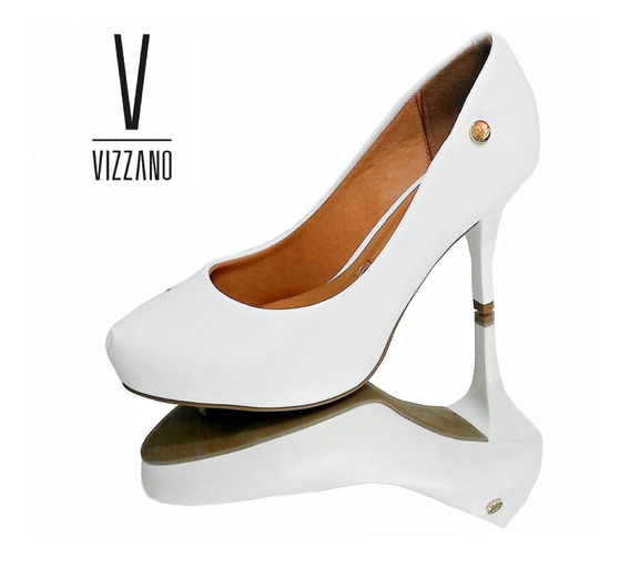 Stiletto Vizzano Clasico Blanco Ideal Novias 1781.421