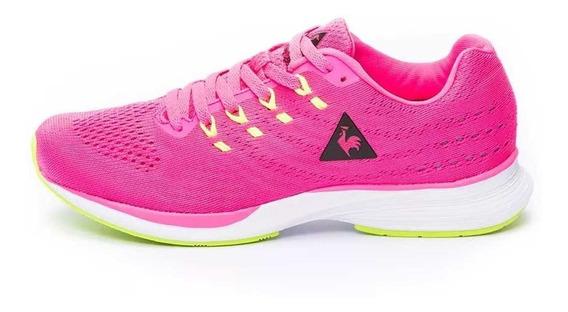 Zapatillas Le Coq Sportif Fierce W Pink Lime (7528)